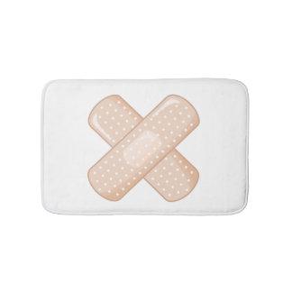 Get Well Soon Bandaid (Nurse Care Crossed Plaster) Bath Mats