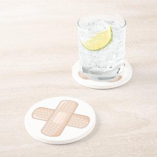Get Well Soon Bandaid (Nurse Care Crossed Plaster) Coasters