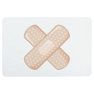 Get Well Soon Bandaid (Nurse Care Crossed Plaster) Floor Mat