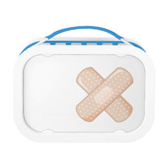 Get Well Soon Bandaid (Nurse Care Crossed Plaster) Lunch Box