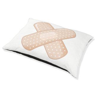 Get Well Soon Bandaid (Nurse Care Crossed Plaster) Pet Bed