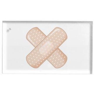 Get Well Soon Bandaid (Nurse Care Crossed Plaster) Table Number Holder