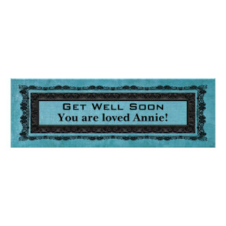 Get Well Soon Banner Poster