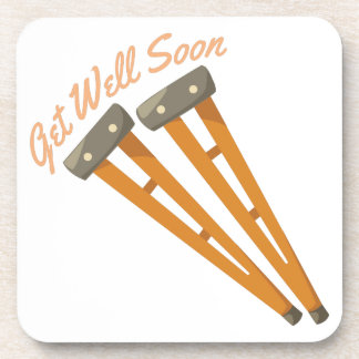 Get Well Soon Beverage Coaster