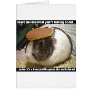 Get Well Soon Bunny Greeting Card