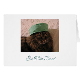 Get Well Soon! Note Card