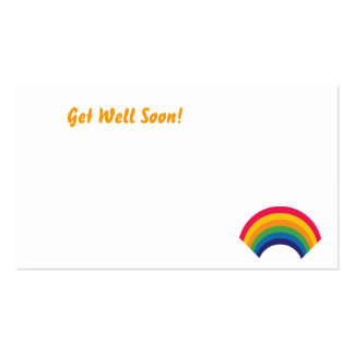 Get Well Soon!-Customize Business Card Templates