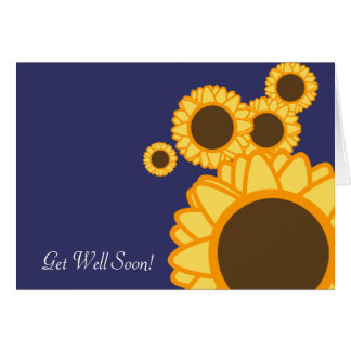Get Well Soon!-Customize Greeting Card