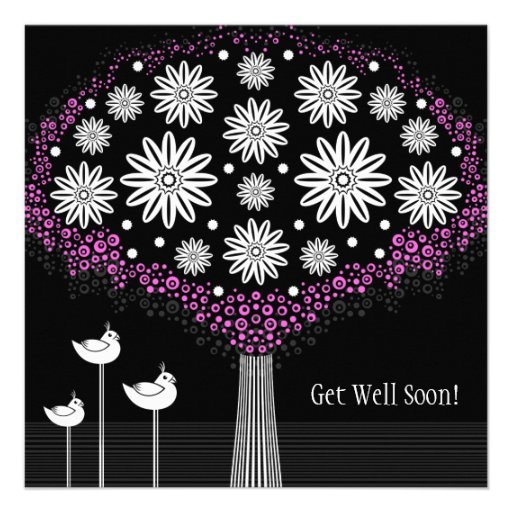 Get Well Soon - Flowers Greeting Card
