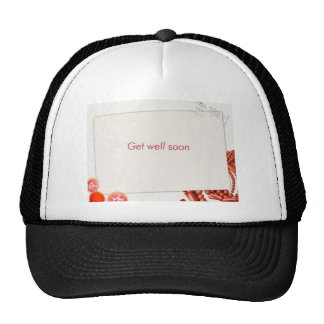 get well soon hat