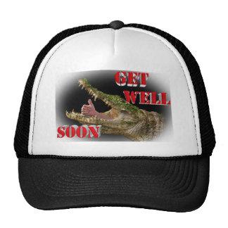 get well soon mesh hat