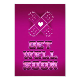 Get well Soon Announcements
