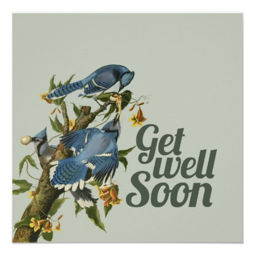 Get well Soon Personalized Invitation