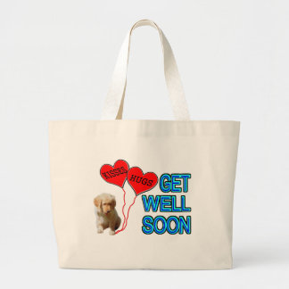 Get Well Soon Large Tote Bag