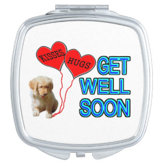 Get Well Soon Makeup Mirrors