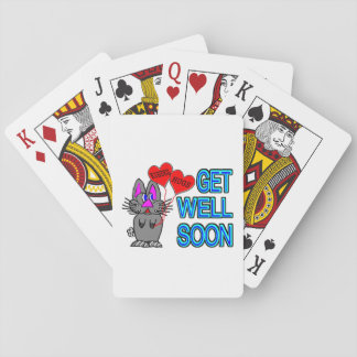 Get Well Soon Poker Deck