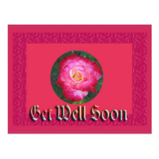 get well soon post card