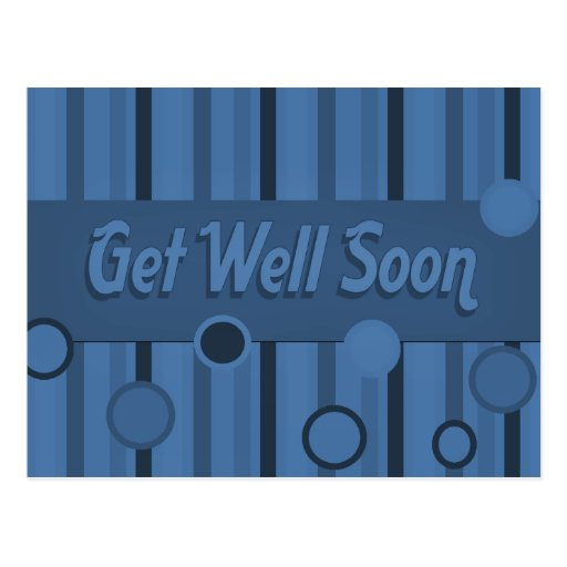 Get Well Soon Postcards