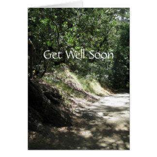 Get Well Soon Road To Recovery Greeting Card