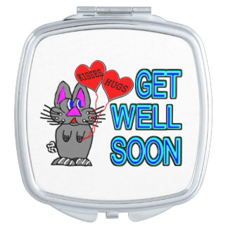 Get Well Soon Travel Mirrors