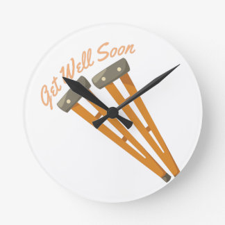 Get Well Soon Wallclock