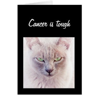 Get Well You can be Tougher than Cancer Card