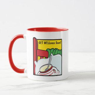 """Get WELLness Soon"" Classic White Coffee Mug"