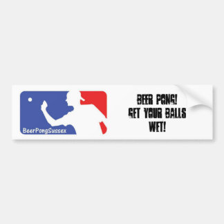 Get Your Balls Wet Bumper Sticker