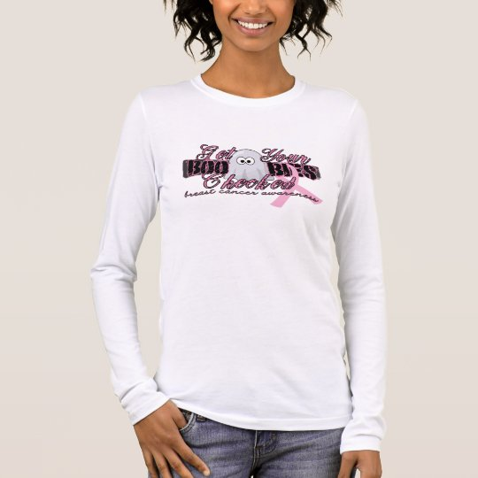 Get Your BOObies Checked Long Sleeve T-Shirt