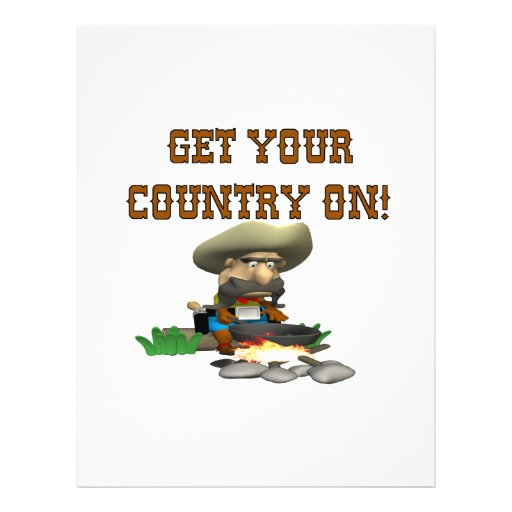 Get Your Country On 3 Custom Flyer