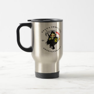 Get your drink on QC style Travel Mug