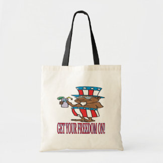 Get Your Freedom On Tote Bags