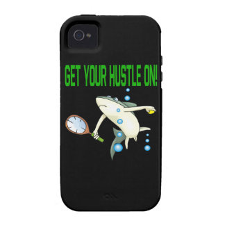 Get Your Hustle On iPhone 4 Covers