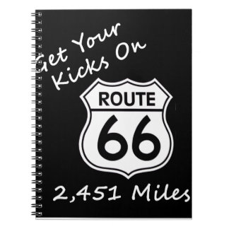 get_your_kicks on US Route 66 Notebooks