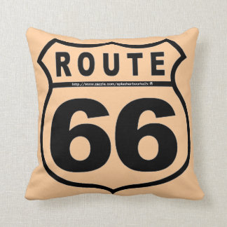 """Get your kicks @ RT 66!"" Cushion"