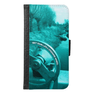 get your life's steering wheel advice of life samsung galaxy s6 wallet case