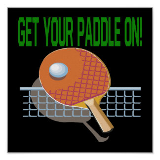 Get Your Paddle On Poster