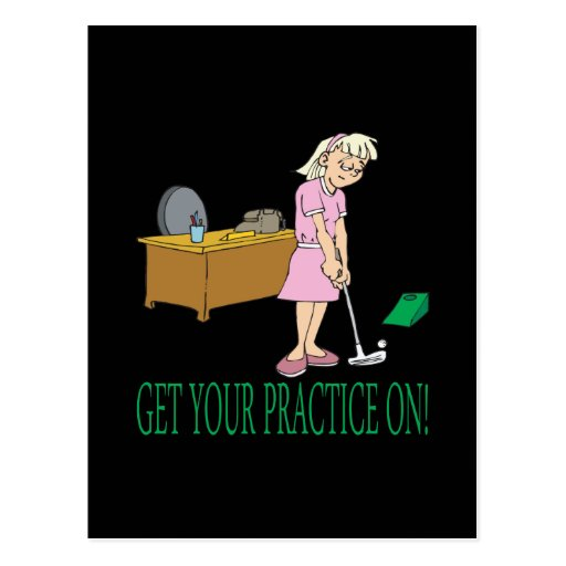 Get Your Practice On Postcards