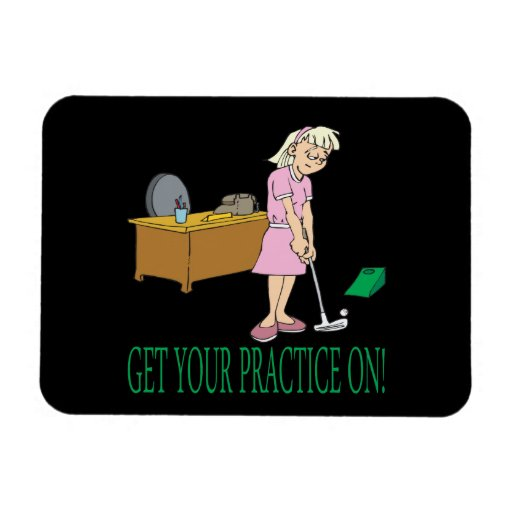 Get Your Practice On Flexible Magnet