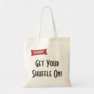 Get Your Shuffle On! Shopping bag