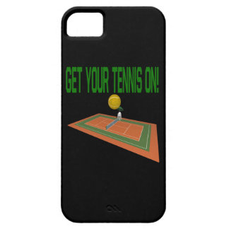 Get Your Tennis On iPhone 5 Covers
