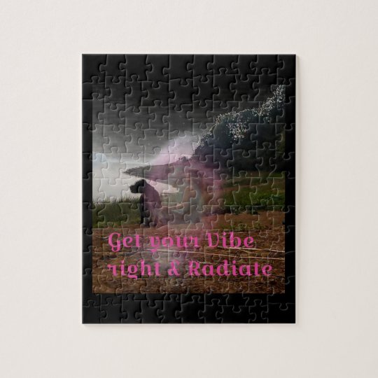 Get your vibe right jigsaw puzzle