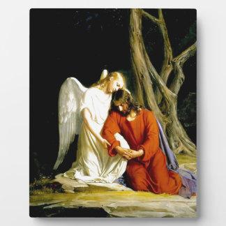Gethsemane Carl Bloch Plaque