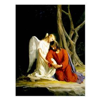 Gethsemane Carl Bloch Postcard
