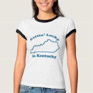 Gettin Lucky in Kentucky T-Shirt