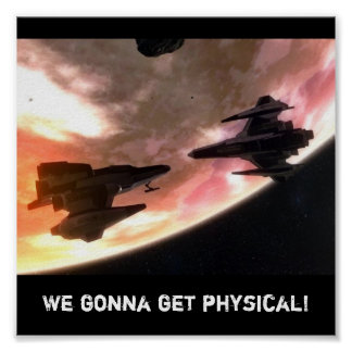 Gettin' Physical Poster