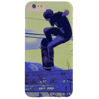 Getting Air - Skateboarder Barely There iPhone 6 Plus Case