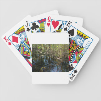 Getting Away Bicycle Playing Cards