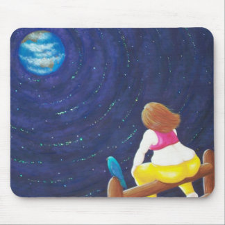 Getting away from it all mouse pad