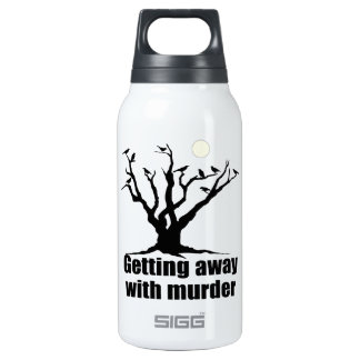 Getting Away with Murder 0.3 Litre Insulated SIGG Thermos Water Bottle